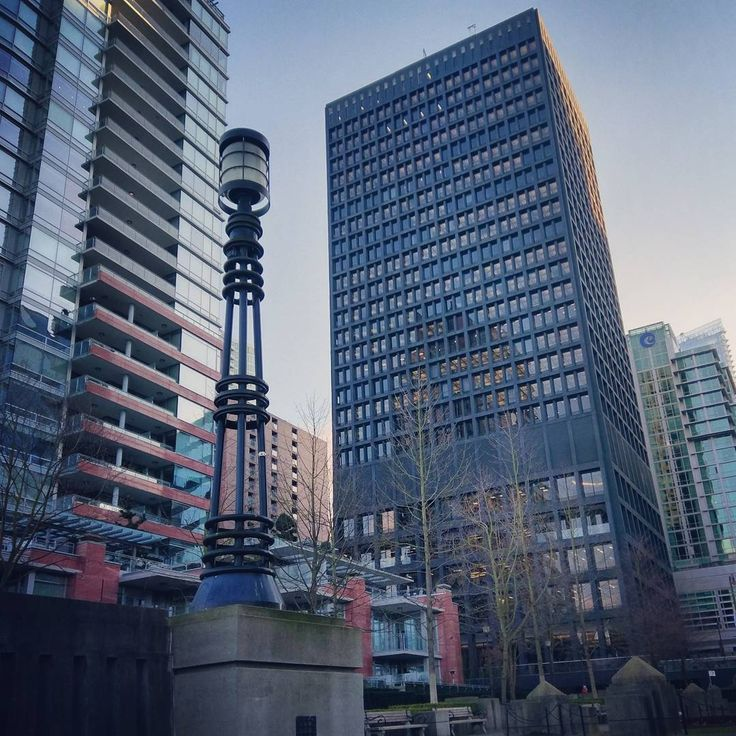 Beautiful city. #vancity #vancouver #travel #downtown #skyscrapers