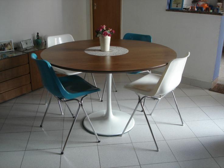 17 mejores ideas sobre sillas retro en pinterest sillas for Sillas plasticas comedor