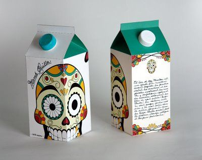 Day of the Dead-inspired packaging concept