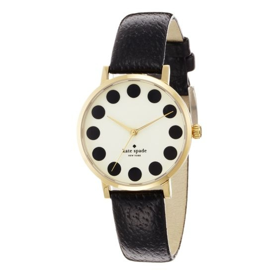 kate spade | metro: Polka Dots, Style, Metro Watches, Black Dots, New York, Polkadots, Kate Spade, Katespade, Men Watches