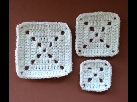 CROCHET ALONG - Simple Granny Square (VIDEO TUTORIAL) - YouTube - FINALLY! A tutorial that made sense. Who knew I'd struggle with such a simple task? - A