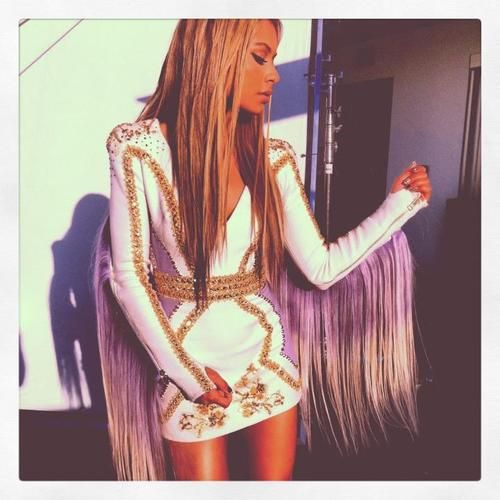 "Behind-The-Scene pic from DJ Havana Brown's ""You'll Be Mine"" video shoot."