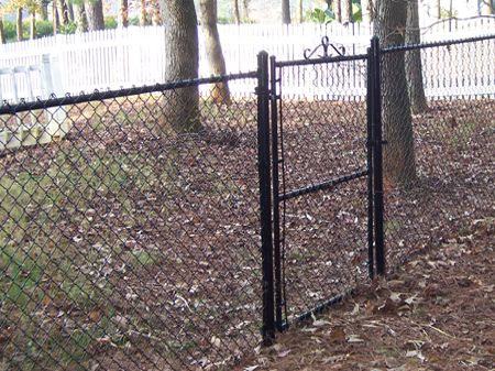 Vinyl Coated Chain Link Fence Home Fence Design Chain