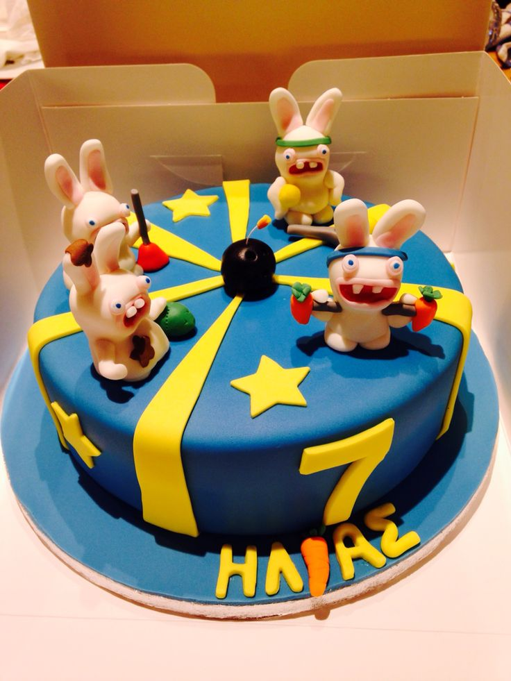 Rabbids invasion cake