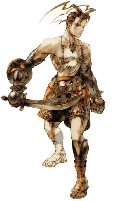 Ashley Riot from Vagrant Story design by Akihiko Yoshida