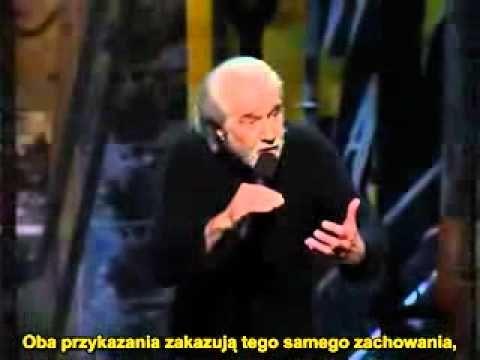 George Carlin - 10 przykazan- TYLKO DLA ATEISTOW.flv