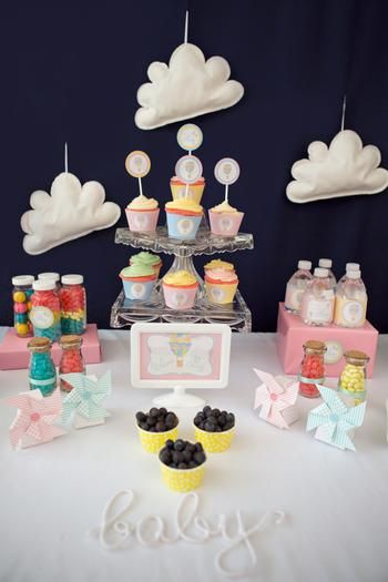 Hot Air Balloon Sweets Table