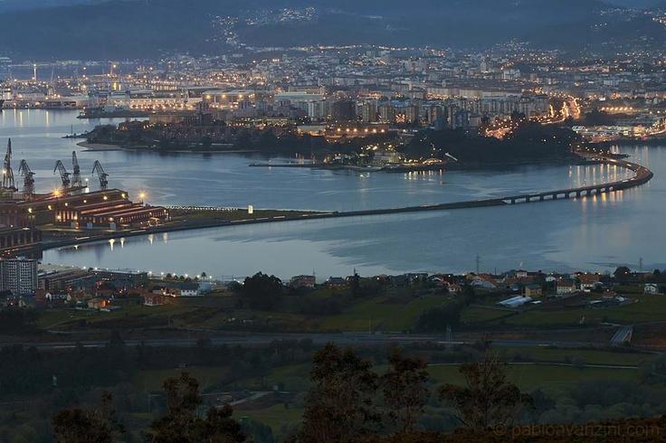 Panorámica de Ferrol