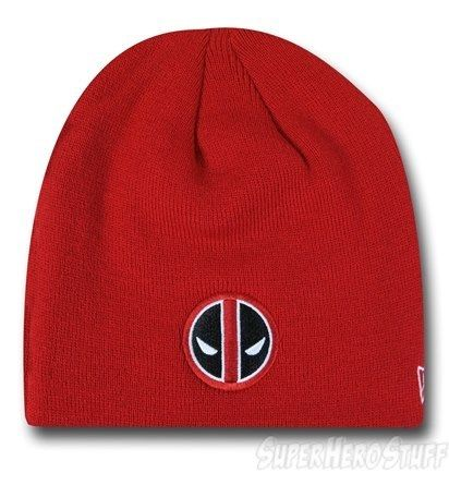 Get Wade's voices up inside your head with a Deadpool beanie!