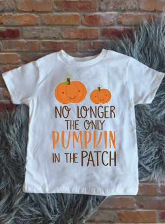New Baby Announcement, Only Child Expiring, Not the only Pumpkin in the patch…