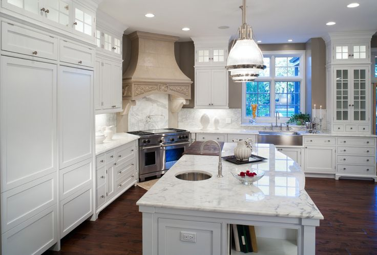 Induction Cooktop Pros and Cons Mediterranean Style for Kitchen with Kitchen Island by Addition Building &
