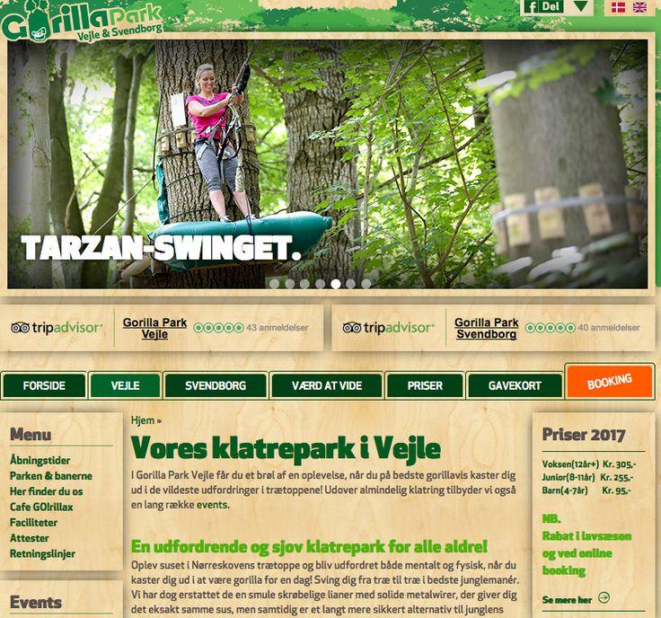 Firmaevent Vejle og teambuilding i Vejle hos Gorilla Park