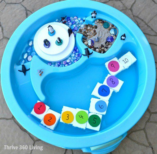 Summer isn't the only time kids can enjoy the water table. Here are some creative ideas for using your water table year round.