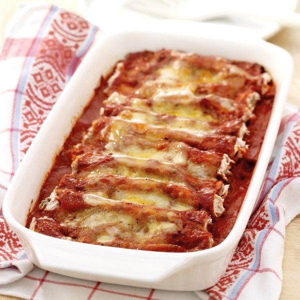 Cannelloni gevuld met tonijn Recept   Weight Watchers België