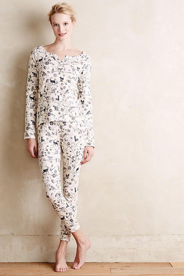 Cozy thermal pajamas