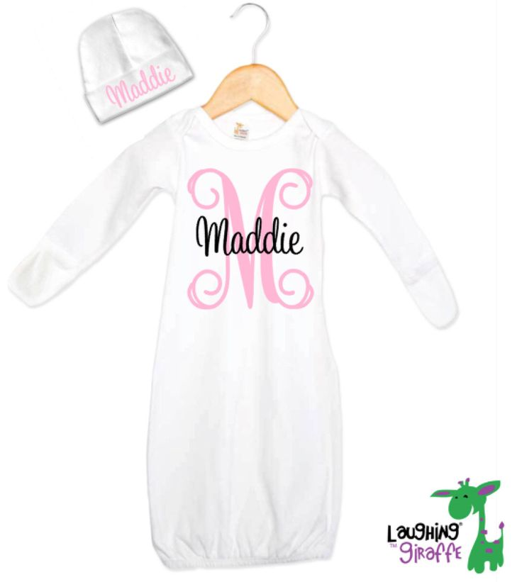 Personalized Baby Gifts, Personalized Baby Gift Set, Baby Shower Gift for Newborn Girl, Baby Clothes, Baby Gift Ideas, Coming Home Outfit by TheMonogrammedPrep on Etsy https://www.etsy.com/listing/228575955/personalized-baby-gifts-personalized