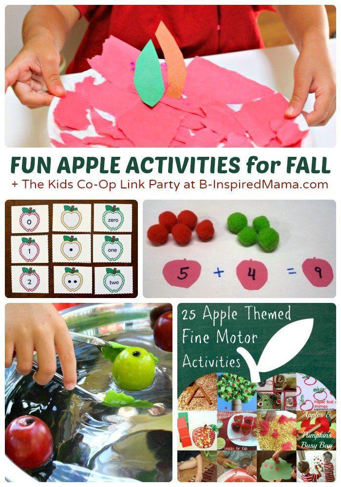 26+ Fun Fall Activities for Kids - Exploring Apples & Nature - B-InspiredMama.com