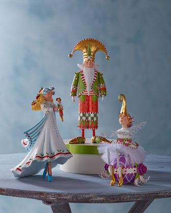 Nutcracker+Series+Figures+by+Patience+Brewster+at+Horchow.