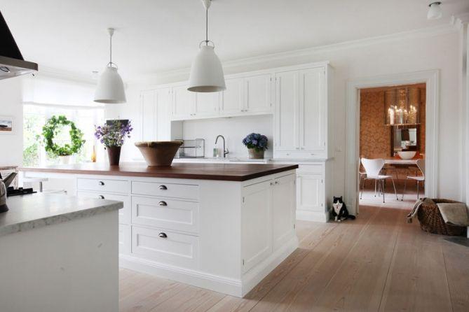 #whitekitchen #whiteoak Broby ren vit | Tradition | Produkter | Kvänum