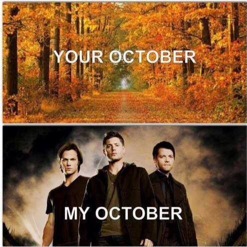 So this has become my October. I feel enlightened. Haha.