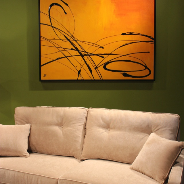 Painting by Elena Bulatova from Artisto Fine Art at Las Vegas Design Center.