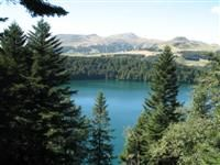 Lac de Pavin massif de sancy Auvergne France guided walking holiday