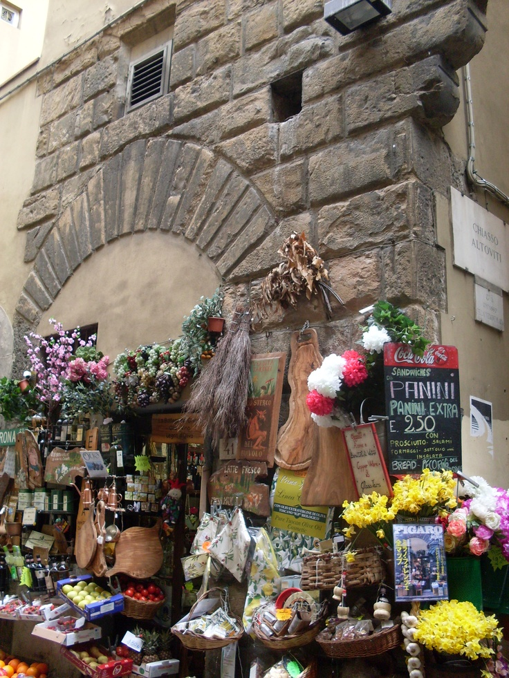 Shop in Florence, beautiful