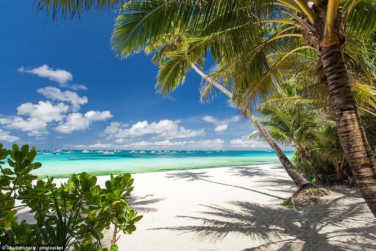 Beautiful beaches: Another Philippine destination - Boracay Island - rounds out the public...