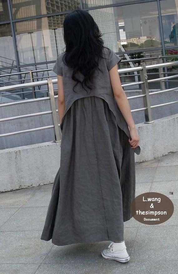 Flax sundress more colour and size choice от FashionColours
