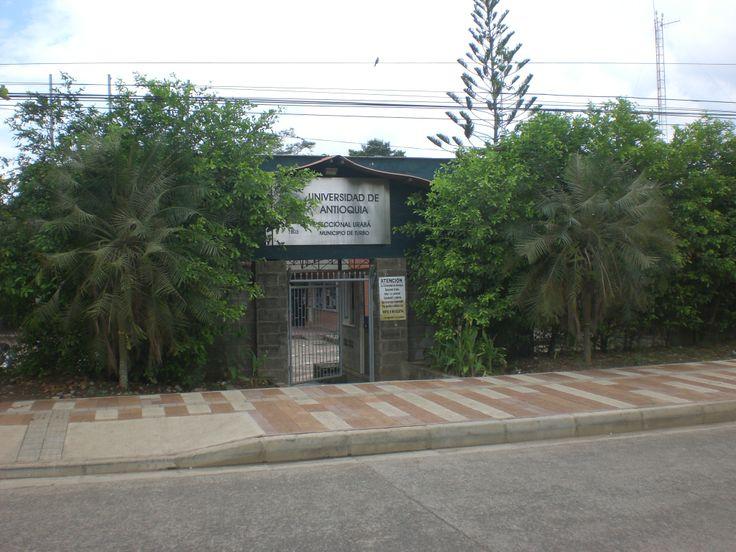 Seccional Urabá. la última regional donde trabaje, esto fue en el mes de marzo del 2014.