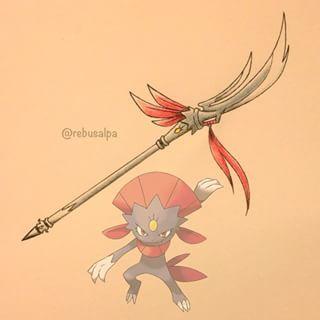 pokemon weapon Weavile