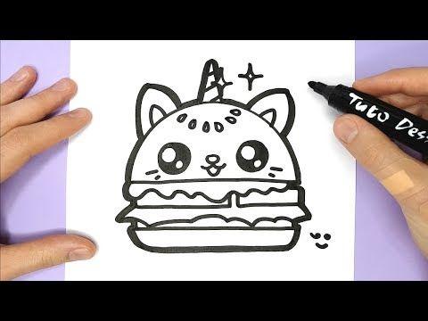 Tuto Dessin Dessin Kawaii Et Facile A Faire Youtube Coloriage Kawaii Dessin Kawaii Kawaii Licorne