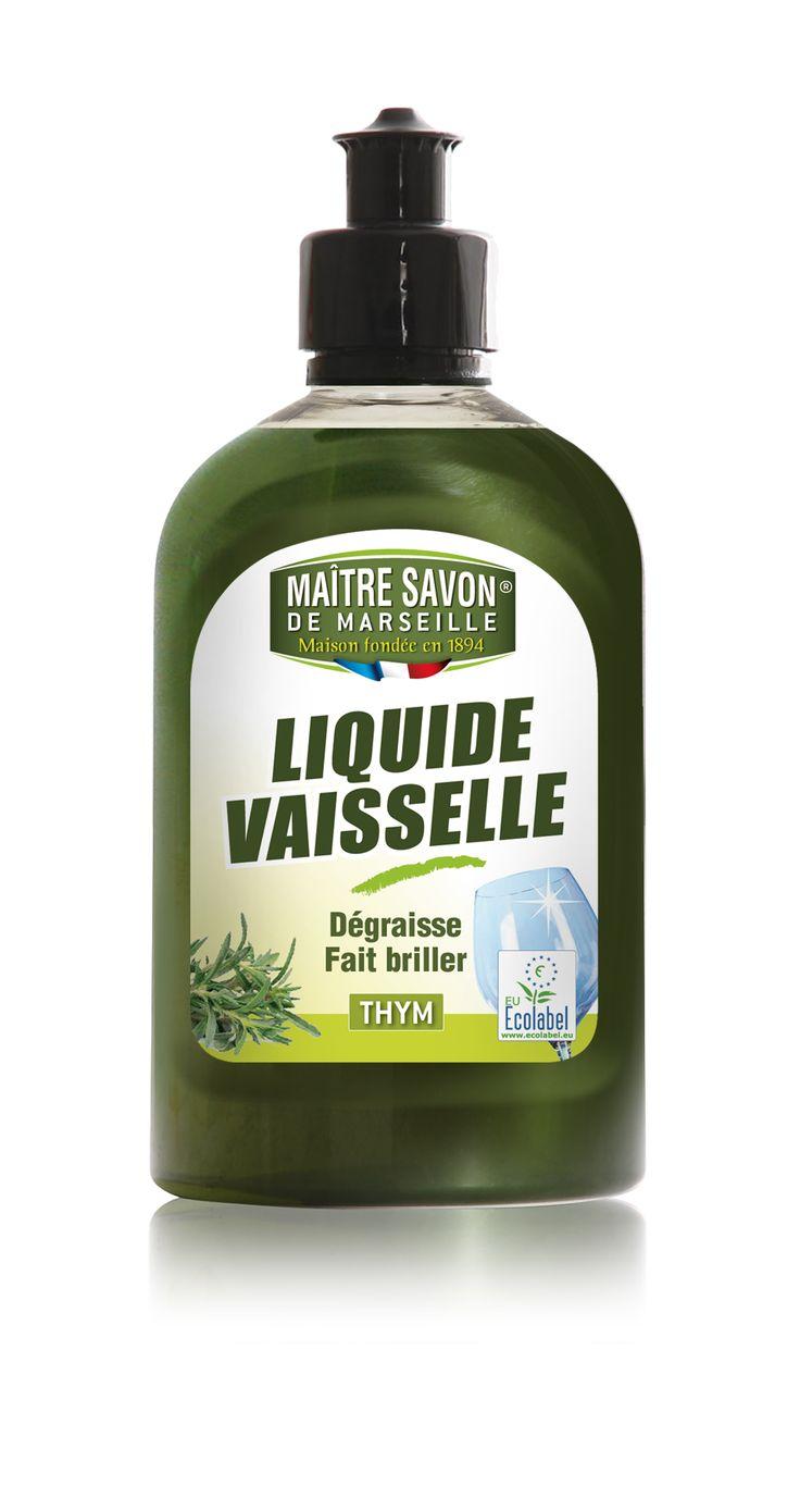 Liquide vaisselle Thym 500ml Maître Savon de Marseille