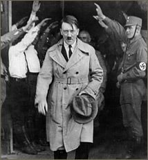 Hitler was appointed Chancellor of Germany in 1933, and then made Fuhrer in 1934, a position that gave him complete control of the state and the military.