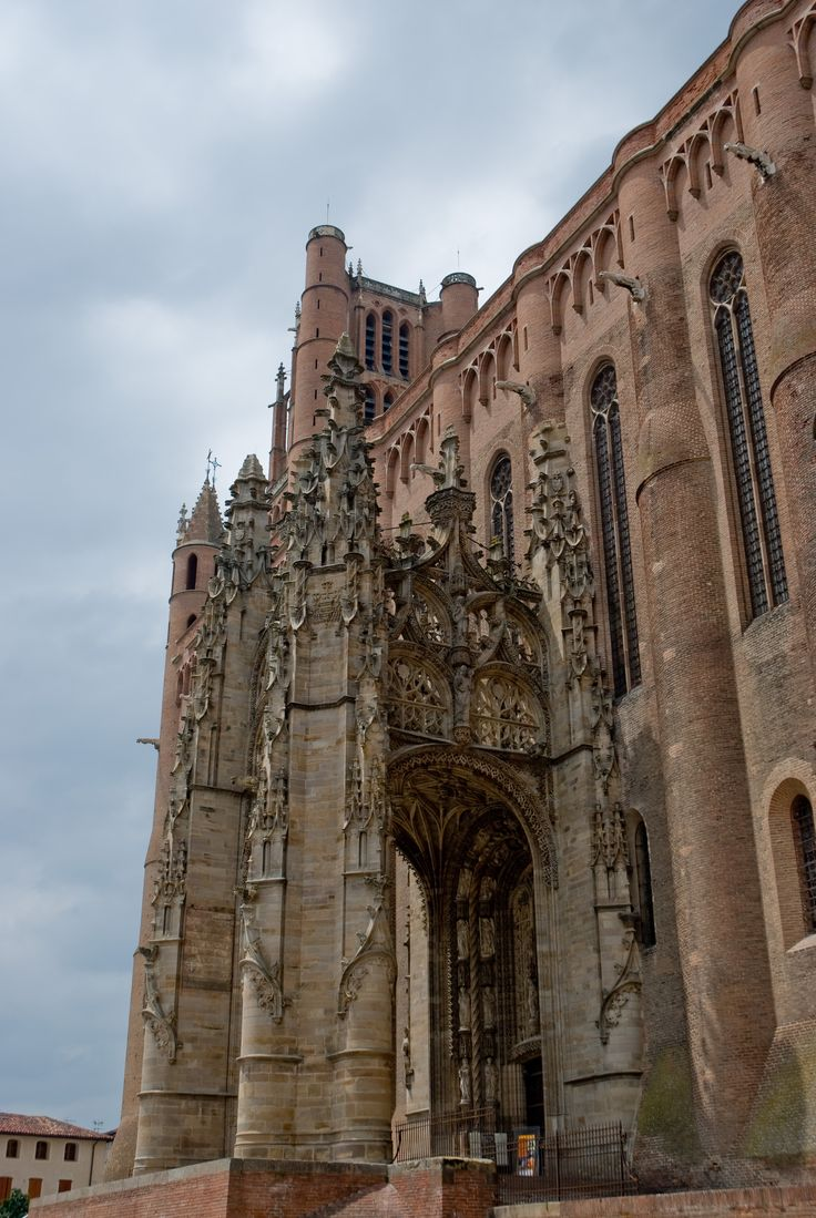 File:Albi cathedral - gothic portal 1.jpg  Sainte Cecile Cathedral