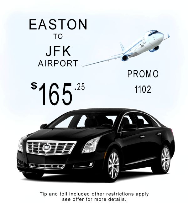 Bond Limousine Easton Connecticut to JFK Airport transportation Special. Call Today 800.617.6427 Clean on time and Affordable serving Connecticut since 1997.