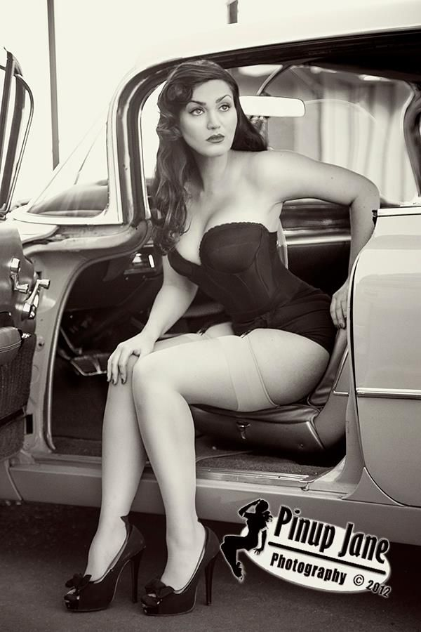 Hot rod pin up girl sex