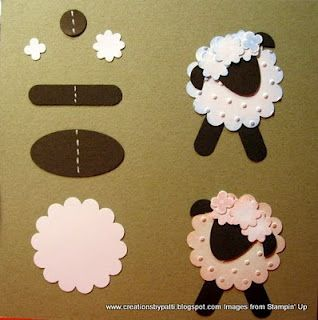 Punch Art Lambs