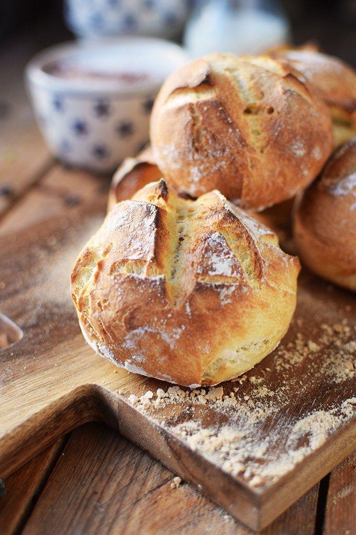 Kartoffel-Dinkel-Brötchen: Frühstück? - Das Knusperstübchen (Breakfast)