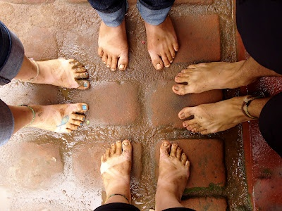 """""""How blessed are the feet of those that bring good news."""" Our feet in Kenya, Africa (taken by Sarah Croaker): Blessed, Sarah Croaker, News, Kenya, Feet, Bring, Africa"""