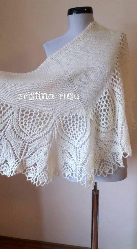 Knitting lace shawl , Ivory shawl ,Bridal shawl ,Ivory Wedding Shawl - Cream Bridal Shrug - Cream Knitting Capelet - ready to ship