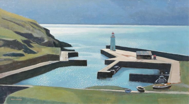 Alan Caswell Collier (1911-1990) - Lybster, Scotland