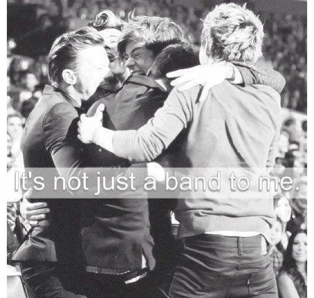 People really just need to get that. I don't have to explain anything to them, and just because I don't doesn't mean I am some brainwashed teenage girl :( I mean explaining why I love one direction is harder than explaining what water tastes like there is something special about theses 5 boys That made me fall in love, accept it!