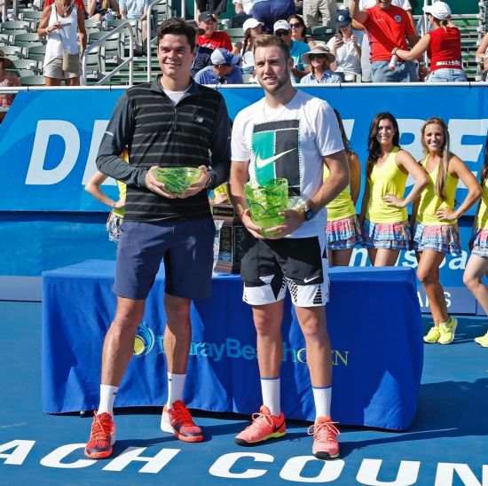 Milos Raonic's withdrawl hands Jack Sock the title at Delray Beach http://www.awesummly.com/news/3064188