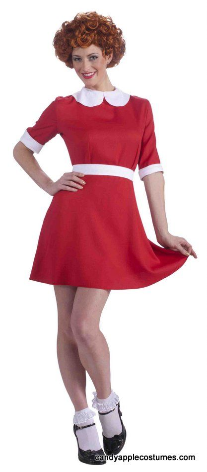 Adult Little Orphan Annie Costume - Candy Apple Costumes - Sexy Women's Costumes