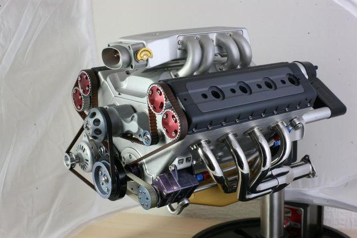1 4 scale running v8 engine autos fabrication. Black Bedroom Furniture Sets. Home Design Ideas