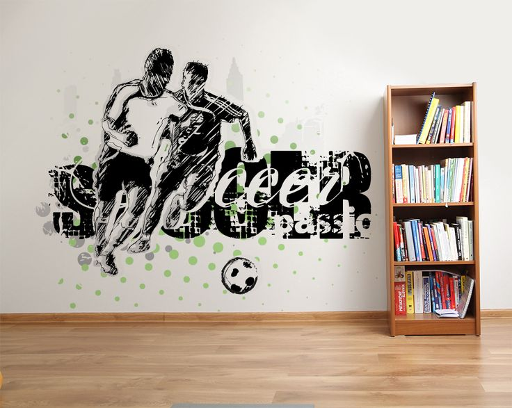 Wallpaper Sticker SOCCER1 PASSION by Sticky!!!