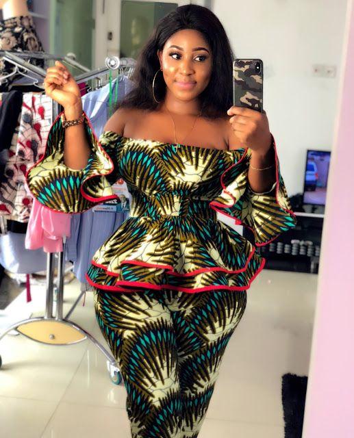 240d0ea2d44 Beautiful Ankara Styles for the Plus size Ladies | Plus fashion ...