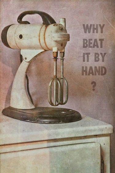 Lucy Gauntlett : Kitchen Aid - Vintage Still life Series
