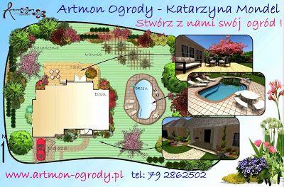 Projektowanie ogrodów Tarnów: Artmon Ogrody - Projektowanie ogrodów i terenów zi...